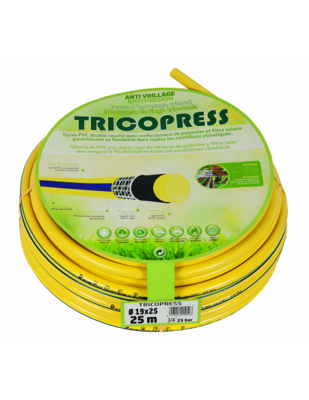 Tuyau d'arrosage anti-torsion - Ø 31x 25 par 25 m
