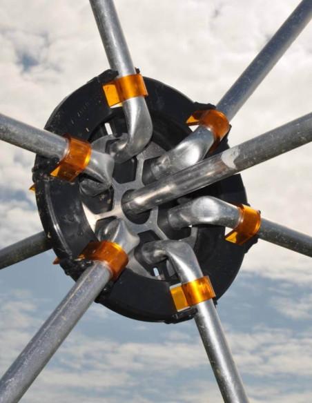 Fibre de verre 1,20 m - 12 mm par 50 pour clôture permanente
