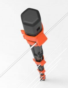 Kit porte à cordon élastique 6 m